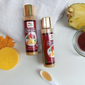 Face Wash (Pineapple and Beetroot)